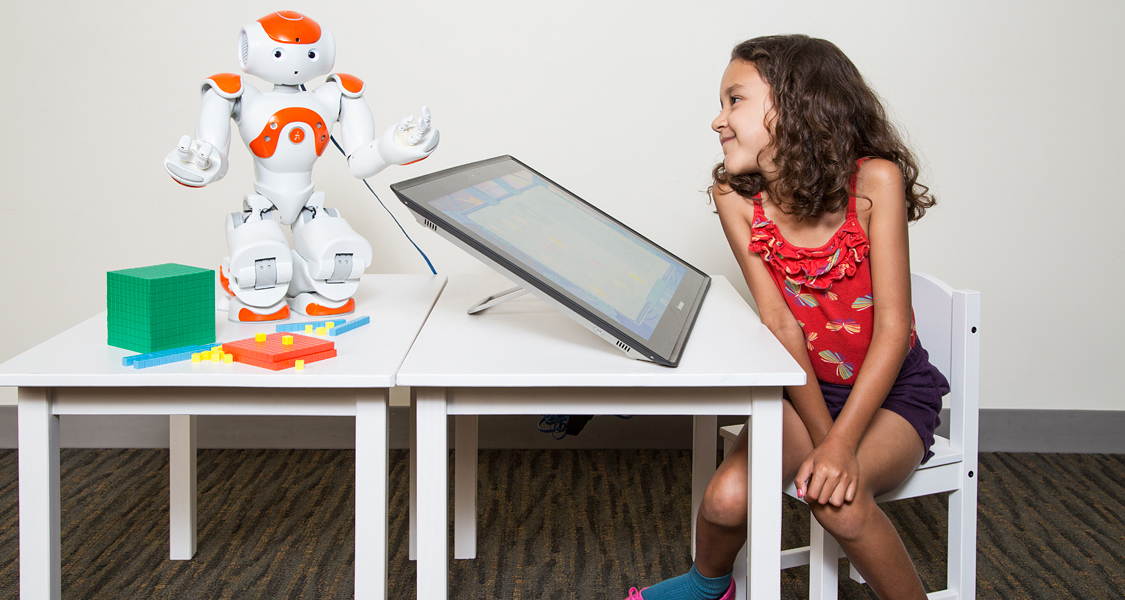Socially Assistive Robot Tutor for Preschool Mathematics